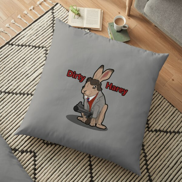 Dirty Harey Floor Pillow