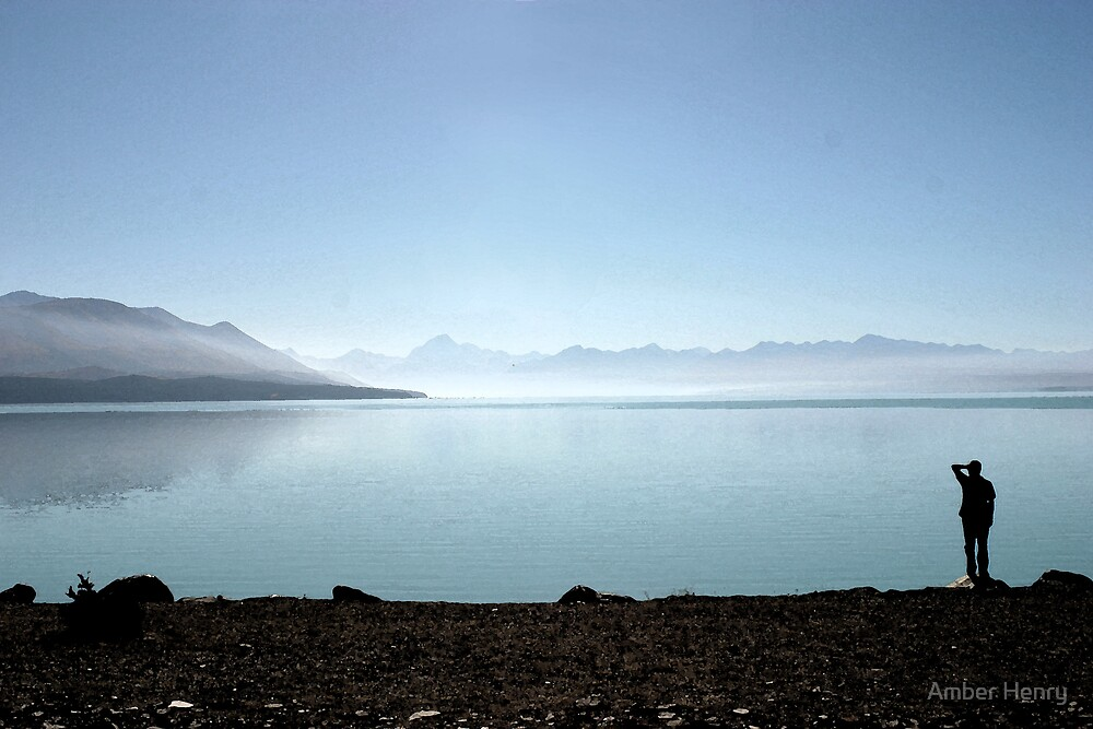 Lookout over Mount Cook by Amber Henry