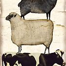 Farm Animal Tree by mindydidit