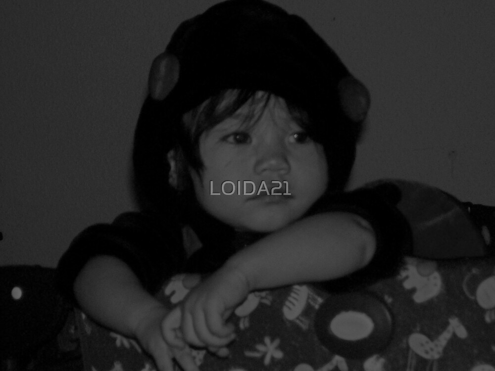 lonely baby by LOIDA21