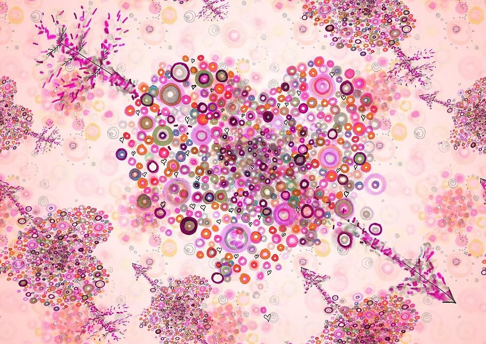 valentines day graphic heart by Regina Valluzzi