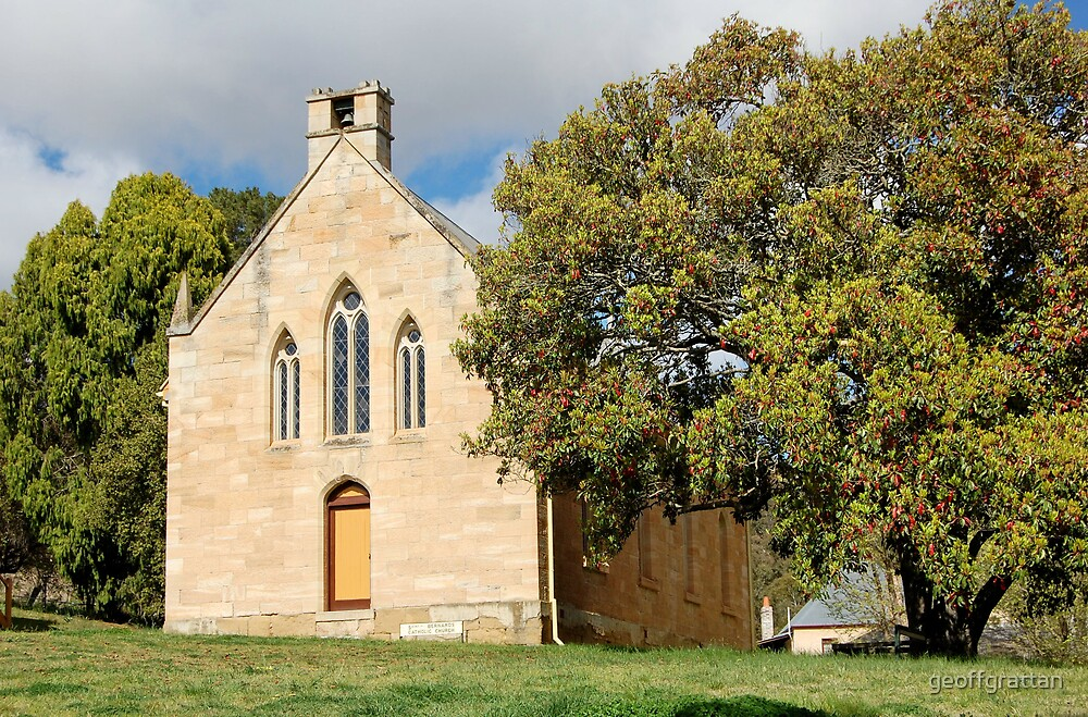 Old church in Hartley  nsw by geoffgrattan