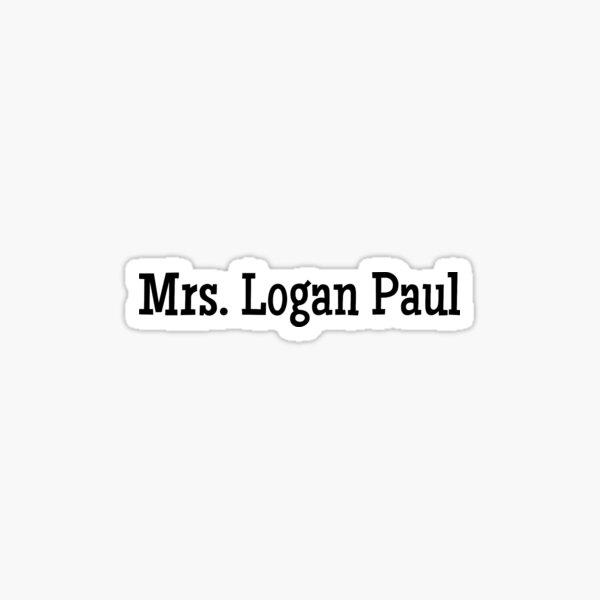 Mrs Logan paul Sticker