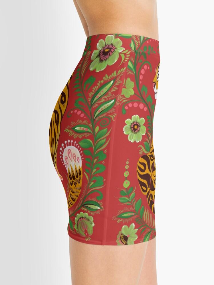 Alternate view of Tiger Folk Art Mini Skirt