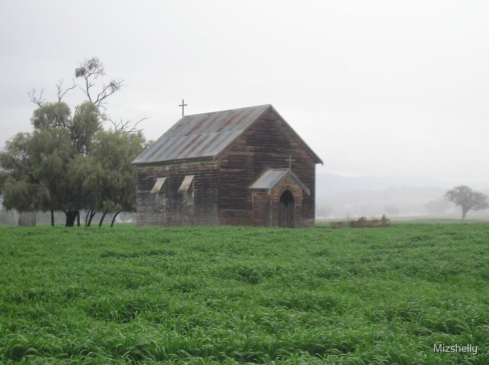 Old Church at Blackville NSW Australia by Mizshelly