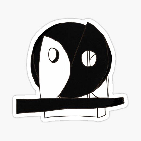 Villanova Oreo (Riley Ellipse) Sticker