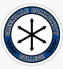 Greendale Sticker