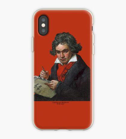 Ludwig van Beethoven Grunge iPhone Case