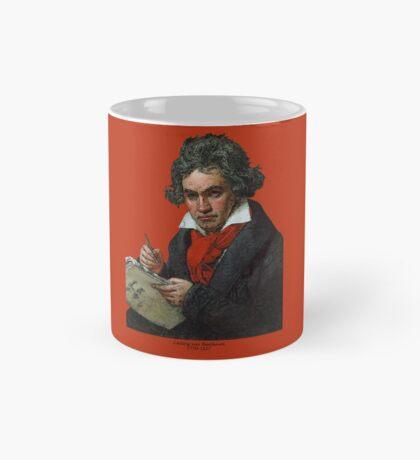 Ludwig van Beethoven Grunge Mug