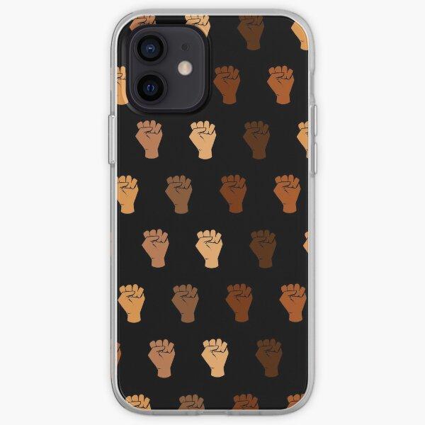 Black Power iPhone Soft Case
