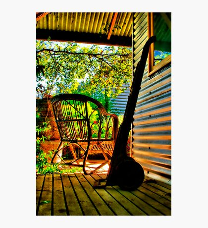 """On The Verandah"" Photographic Print"