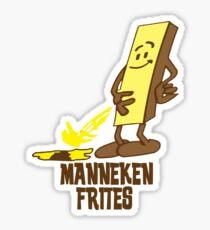 Manneken Frites Sticker