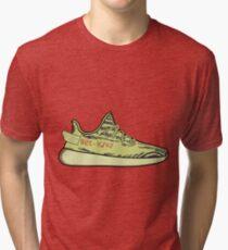 Camiseta de tejido mixto Yeezy Boost 350 V2 Semi-Frozen Yellow