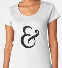 Classic Ampersand Women's Premium T-Shirt