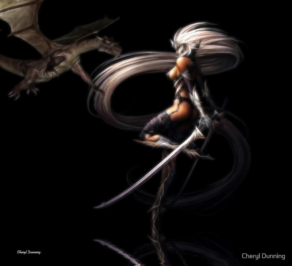 dragon slayer by Cheryl Dunning