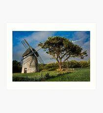 Windmill, County Wexford, Ireland Art Print