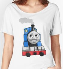 Thomas puffing along Women's Relaxed Fit T-Shirt