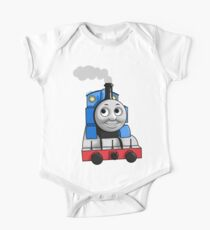 Thomas puffing along One Piece - Short Sleeve