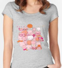 Cats & Cats Women's Fitted Scoop T-Shirt