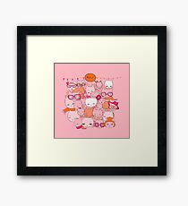 Cats & Cats Framed Print