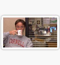 Dwight Schrute Cornell Sticker