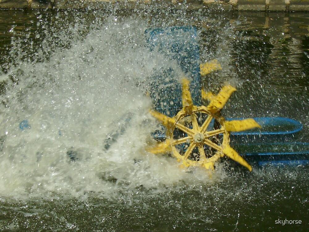 Water Wheel by skyhorse