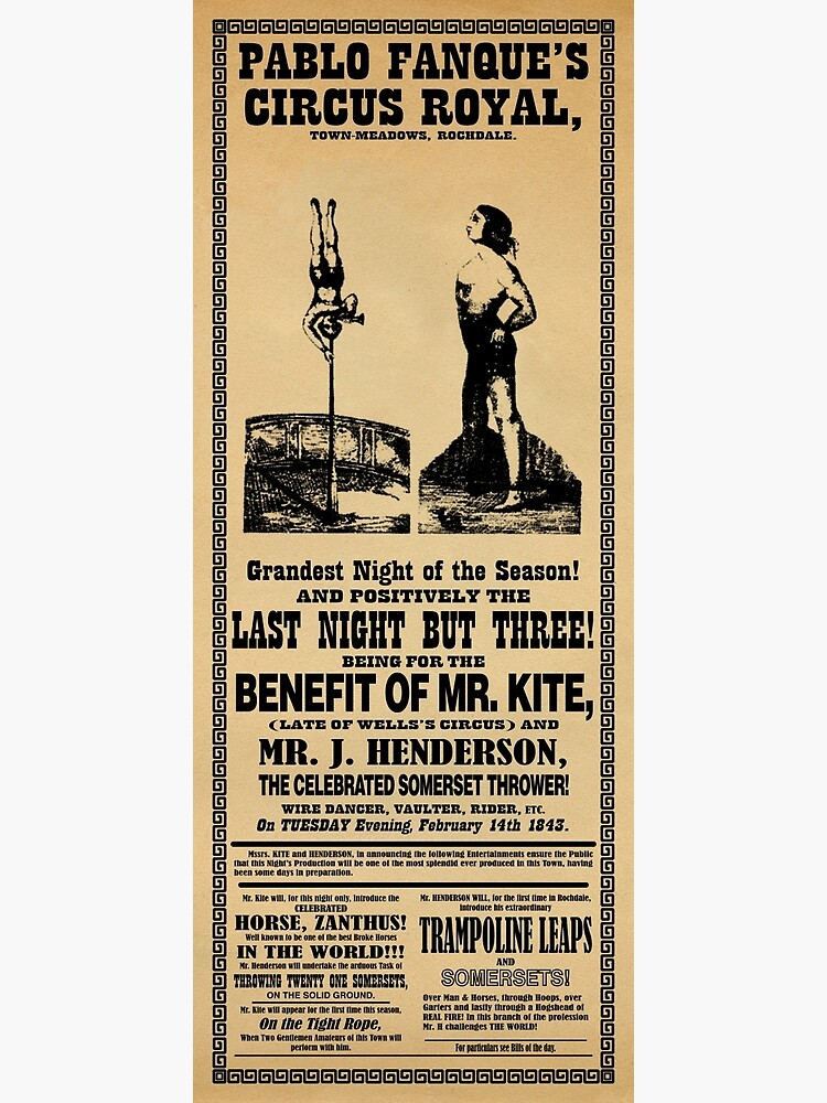 Being For The Benefit Of Mr. Kite by godofodd