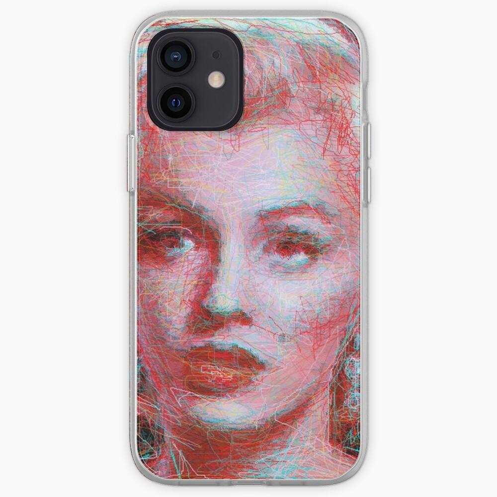ScribbleMarilyn iPhone Case & Cover