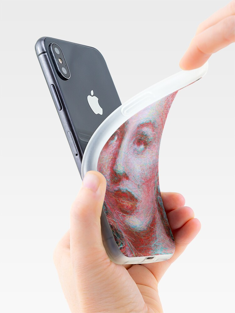 Alternate view of ScribbleMarilyn iPhone Case & Cover