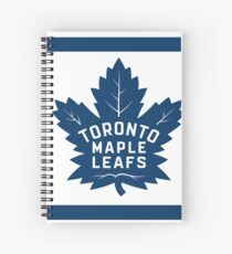 leafs! with some stripes Spiral Notebook