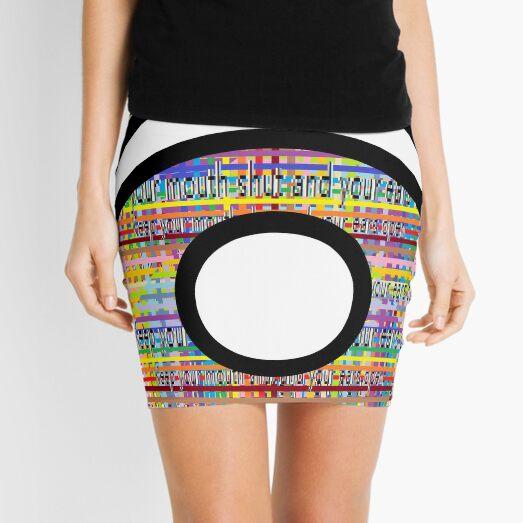 Ancient Sacred Symbol  Mini Skirt