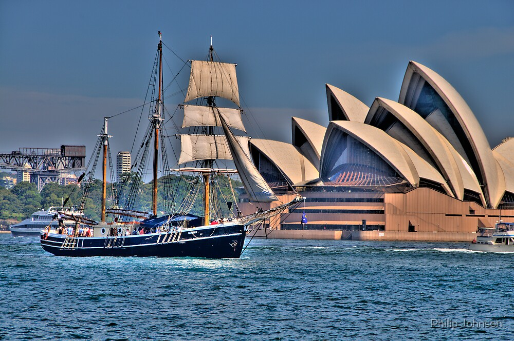 Sail To Sail - Moods Of A City - The HDR Experience by Philip Johnson