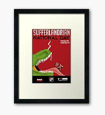 Sufferlandrian National Day 2017 Framed Print