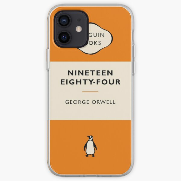 Penguin Book Nineteen Eighty Four iPhone Soft Case