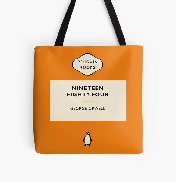 Pingüino Libro Mil novecientos ochenta y cuatro Bolsa estampada de tela