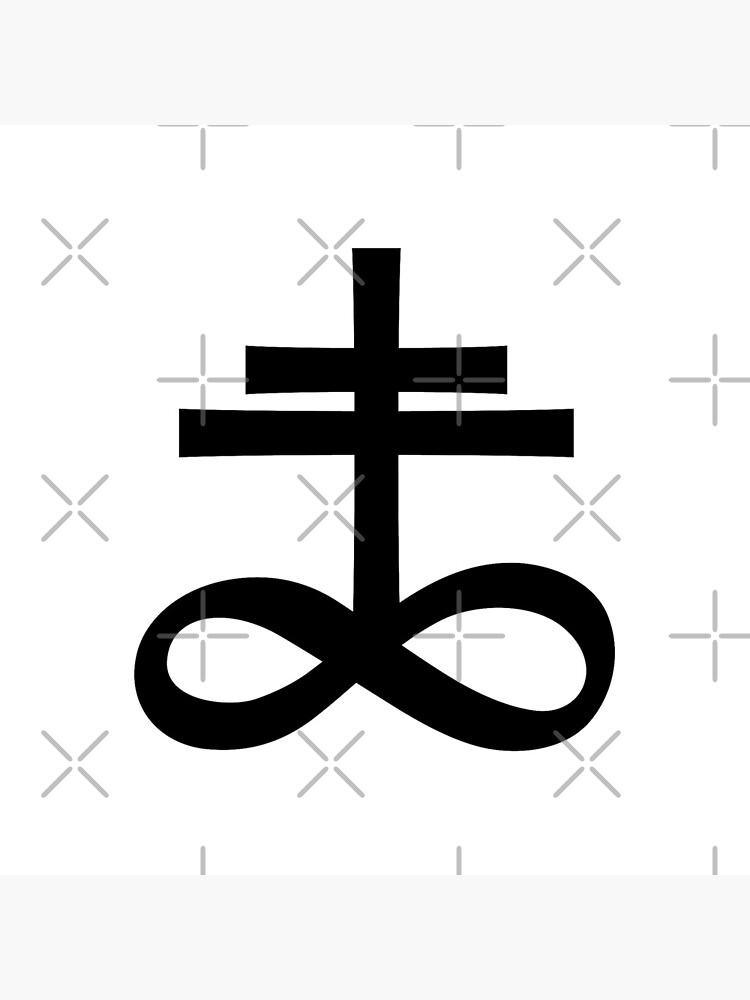 Infinity Cross (in black) by ANGELSONLY