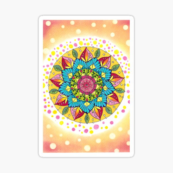 Mandala - Joy Sticker