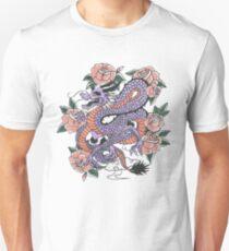 Dragon Flower Unisex T-Shirt