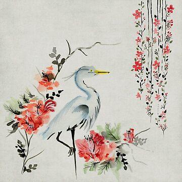 Japanese Crane Design by KayJay28