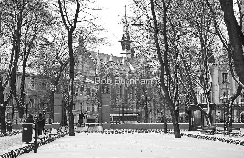 Odessa Presbyterian Church by Bob Burnham