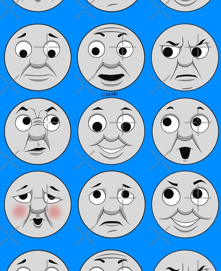 The Many Faces Of Thomas Full Faces Ipad Case Skin By Corzamoon Redbubble