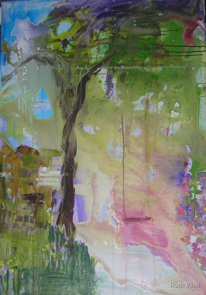 Garden Swing by Ruth Vilmi