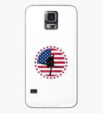 Patriotische Freistil-Skifahren-Geschenke - Freistil-Skifahrer-T-Shirts und Zusätze Hülle & Skin für Samsung Galaxy