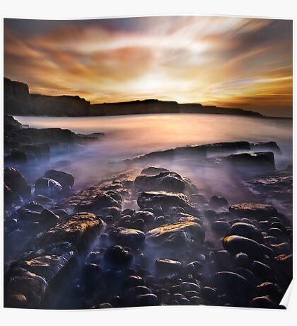 Gower Sunrise Poster