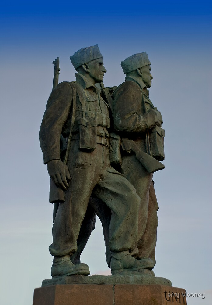 The Commando Memorial by Terry Mooney