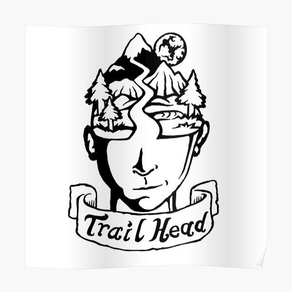 TrailHead - Landscape - Moon. Poster