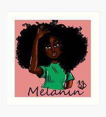 Melanin Kunstdruck