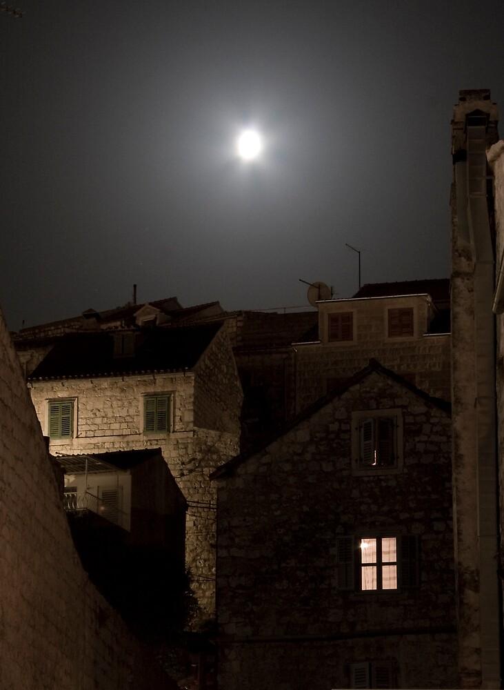 Moonlight, Hvar by Kit Chan