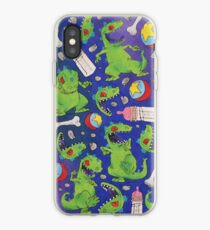 Rugrats Reptar Nickelodeon Pattern iPhone Case