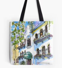 Hollywood Mission Style House. Manly Australia Tote Bag